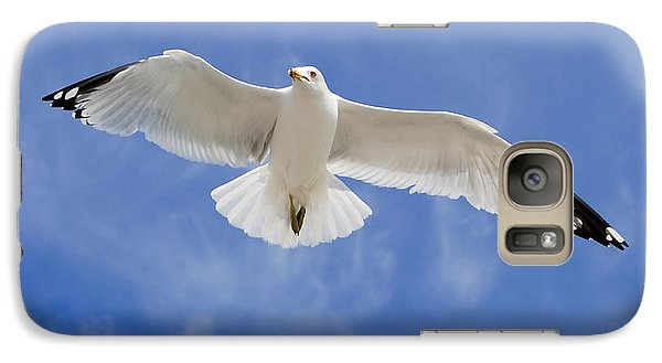 Galaxy Case featuring the photograph Freedom Soar by Gina Savage