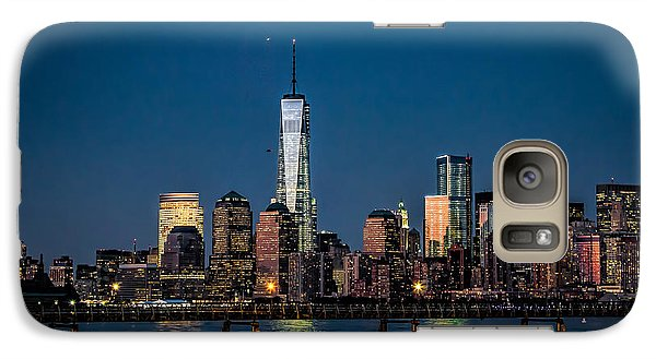 Galaxy Case featuring the photograph Freedom Tower As Seen From Liberty State Park by Eleanor Abramson