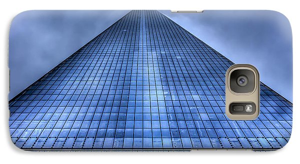 Galaxy Case featuring the photograph Freedom Tower by Rafael Quirindongo