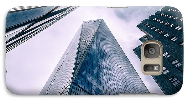 Galaxy Case featuring the photograph Freedom Tower by Wade Brooks