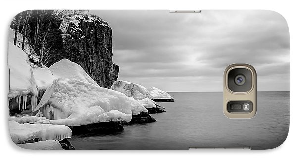 Galaxy Case featuring the photograph Freezing Beauty by RC Pics