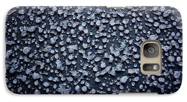Galaxy Case featuring the photograph Freezing Rain by Joel Loftus