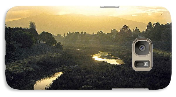 Galaxy Case featuring the photograph Fremont Dawn by Ellen Cotton