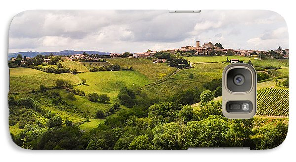 Galaxy Case featuring the photograph French Countryside by Allen Sheffield