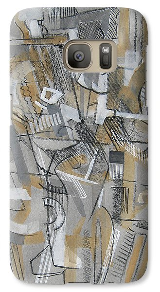Galaxy Case featuring the digital art French Curves 1 by Clyde Semler