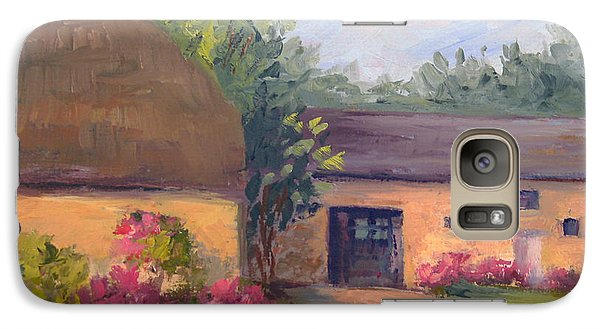 Galaxy Case featuring the painting French Farmhouse   Loire Valley by Vikki Bouffard