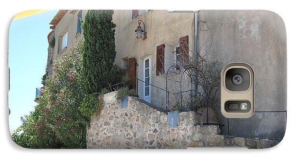 Galaxy Case featuring the photograph French Riviera - Ramatuelle by HEVi FineArt