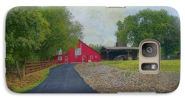 Galaxy Case featuring the photograph Fresh Country Charm by Liane Wright