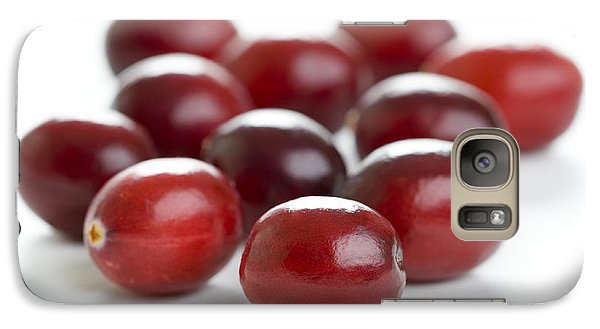 Galaxy Case featuring the photograph Fresh Cranberries Isolated by Lee Avison