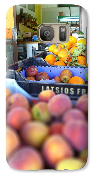 Galaxy Case featuring the photograph Fresh Fruit by Vicki Spindler