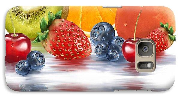 Fresh Fruits Galaxy S7 Case