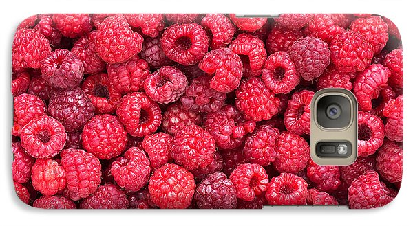 Raspberry Galaxy S7 Case - Freshly Picked by Delphimages Photo Creations