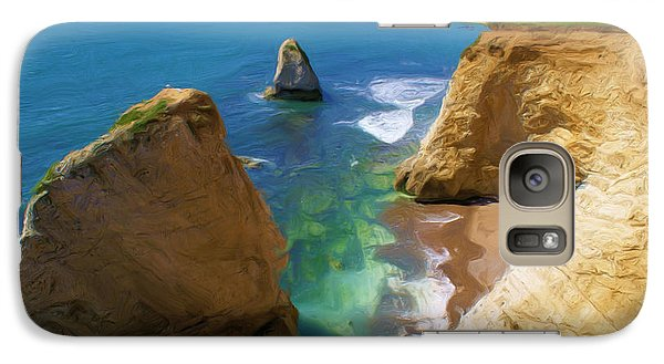 Galaxy Case featuring the digital art Freshwater Bay by Ron Harpham