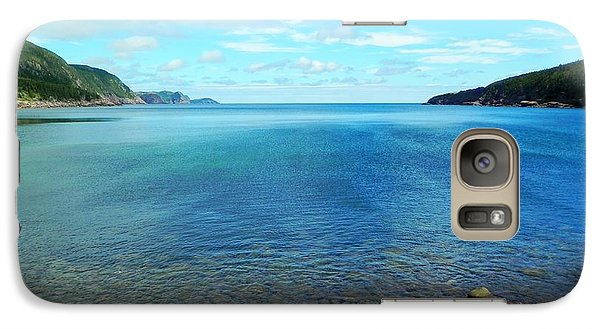 Galaxy Case featuring the photograph Freshwater Bay by Zinvolle Art