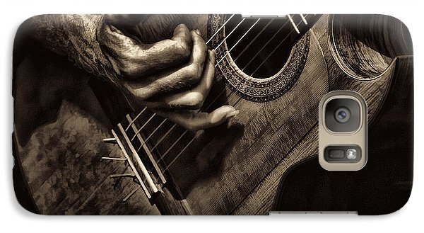 Galaxy Case featuring the photograph Fretwork by Clare VanderVeen