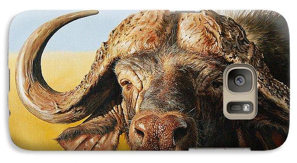 African Buffalo Galaxy S7 Case by Mario Pichler