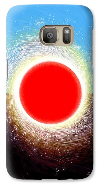 Galaxy Case featuring the digital art Friction by Cristophers Dream Artistry