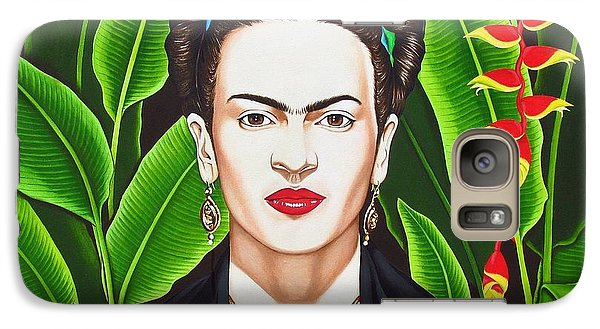 Galaxy Case featuring the painting Frida by Joseph Sonday