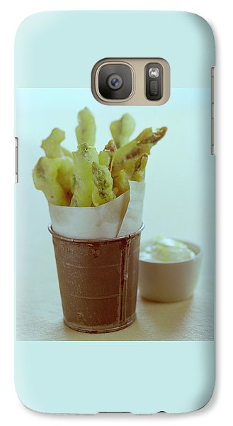 Fried Asparagus Galaxy S7 Case by Romulo Yanes