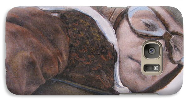 Galaxy Case featuring the painting Friend And Foe by Vikram Singh
