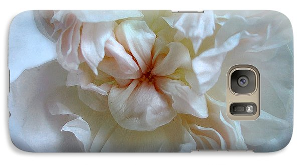 Galaxy Case featuring the photograph Friendship Is The Breathing Rose by Louise Kumpf