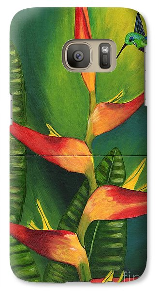 Galaxy Case featuring the painting Friendship by Laura Forde