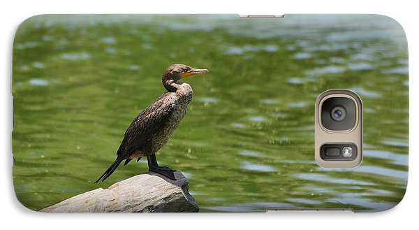 Galaxy Case featuring the photograph Frigate Bird Watching Estuary by Christine Till