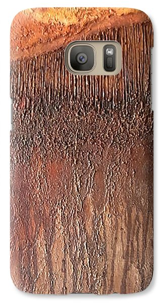 Galaxy Case featuring the painting Fringe by Buck Buchheister
