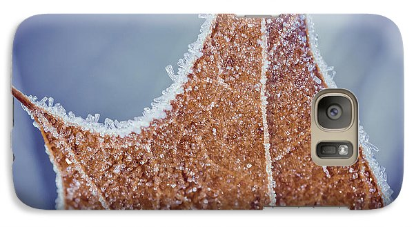 Galaxy Case featuring the photograph Fringe Of Crystal by Julie Clements
