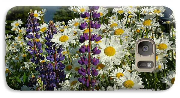 Galaxy Case featuring the photograph Frisco Flowers by Lynn Bauer