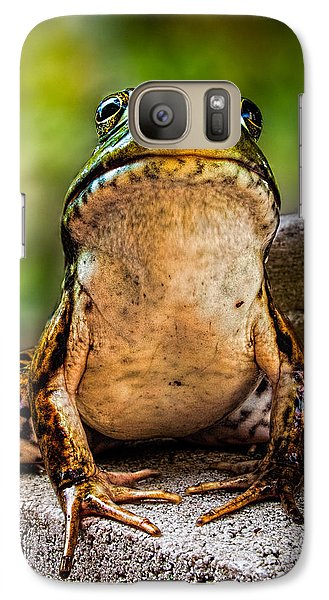 Frog Prince Or So He Thinks Galaxy S7 Case by Bob Orsillo