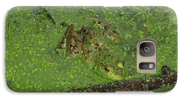 Galaxy Case featuring the photograph Froggie by Robert Nickologianis