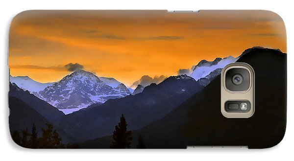 Galaxy Case featuring the photograph From A Distance by Dyle   Warren
