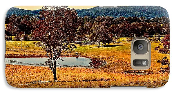 Galaxy Case featuring the photograph From A Distance by Wallaroo Images