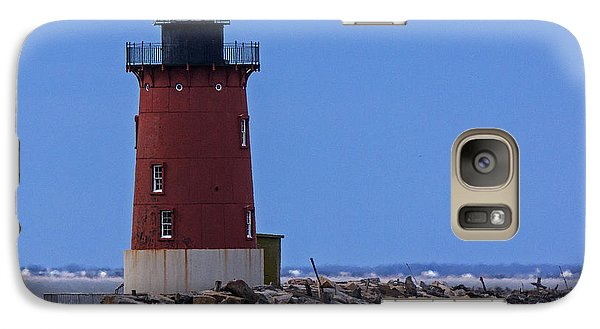 Galaxy Case featuring the photograph From Henlopen Point 1 by Robert Pilkington