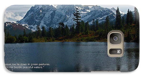 Galaxy Case featuring the photograph From The Hills by Rod Wiens