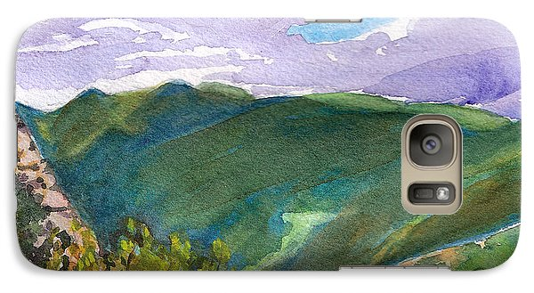 Galaxy Case featuring the painting From Tuckerman's Ravine by Susan Herbst