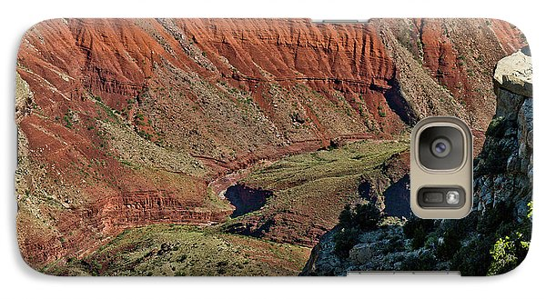Galaxy Case featuring the photograph From Yaki Point 5 Grand Canyon by Bob and Nadine Johnston