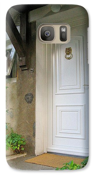 Galaxy Case featuring the photograph Front Door by Arlene Carmel