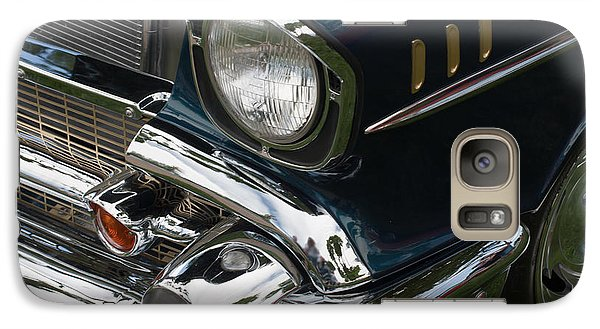 Galaxy Case featuring the photograph Front Side Of A Classic Car by Gunter Nezhoda