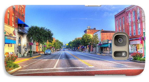 Galaxy S7 Case featuring the photograph Front Street Marietta by Jonny D