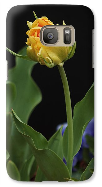 Galaxy Case featuring the photograph Front Yard Tulip by Robert Pilkington