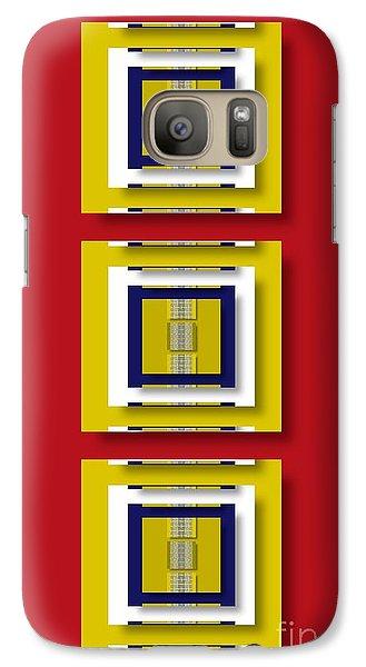 Galaxy Case featuring the digital art Frontdoor by Darla Wood