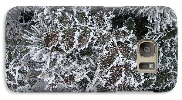 Galaxy Case featuring the photograph Frost by Michael Dohnalek