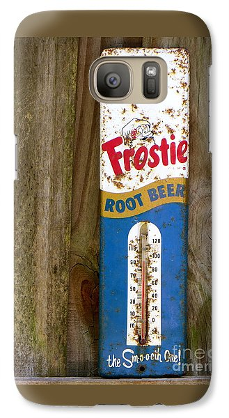 Galaxy Case featuring the photograph Frostie Root Beer  by Joy Hardee