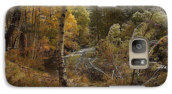 Galaxy Case featuring the photograph Frosty Fall  Morning by Duncan Selby