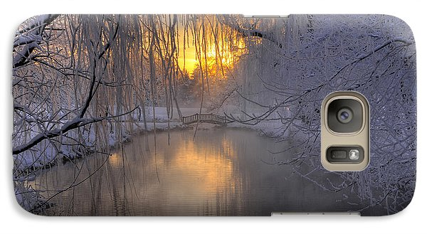 Galaxy Case featuring the photograph Frosty Morn 2 by Dan Myers