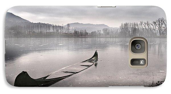 Boat Galaxy S7 Case - Frozen Day by Yuri Santin