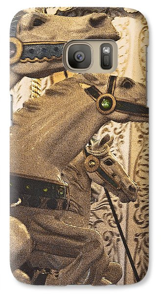 Galaxy Case featuring the photograph Frozen Gaits by Jani Freimann