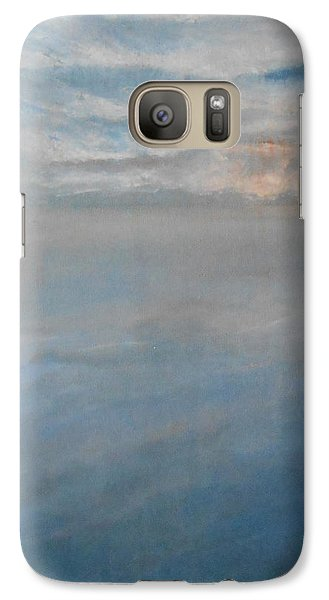 Galaxy Case featuring the painting Frozen by Jane  See